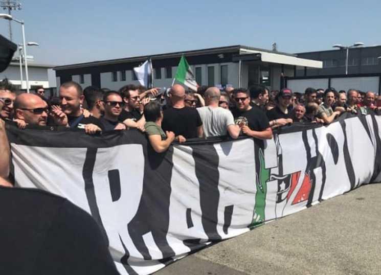 Protesto dos torcedores da Juventus
