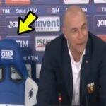 Técnico do Genoa nega cadeira da Samp e dá entrevista em pé