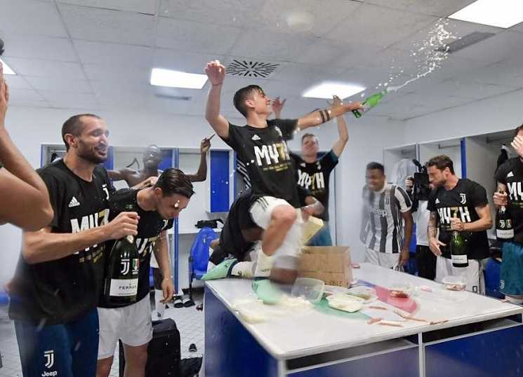 Juventus Títulodo campeonato italiano 2017-2018