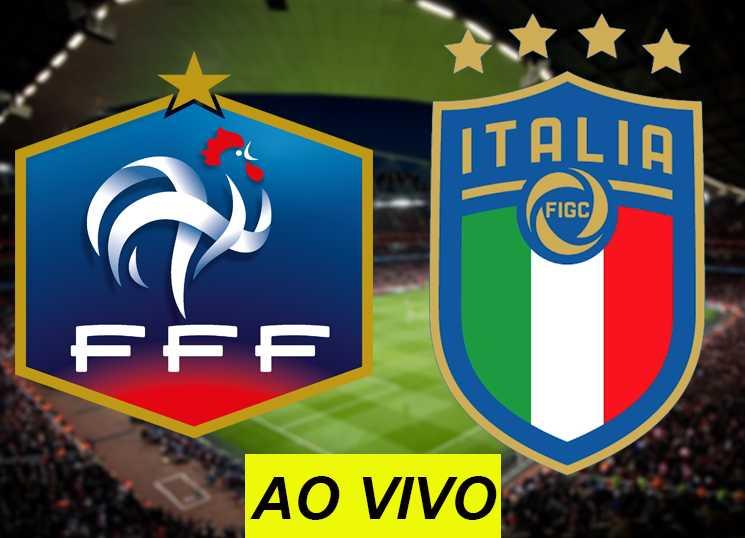 assistir França x Itália ao vivo na TV