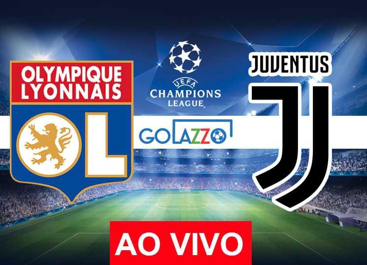 assistir Lyon x Juventus AO VIVO pela Champions League