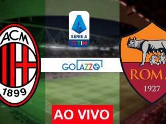 assistir milan x roma ao vivo pelo campeonato italiano