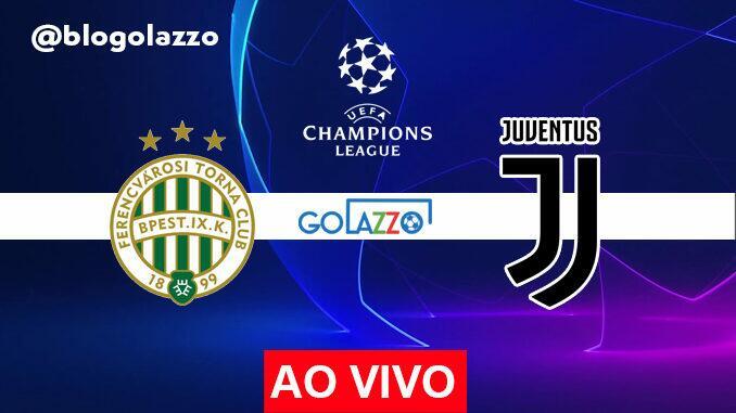assistir Ferencváros x Juventus AO VIVO pela champions league