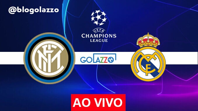 assistir inter x real madrid ao vivo pela champions league