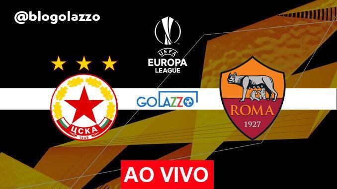 assistir cska sofia x roma ao vivo pela europa league