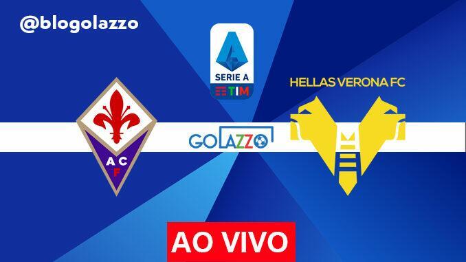 fiorentina x hellas verona pelo campeonato italiano onde assistir