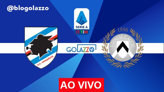 assistir sampdoria x udinese ao vivo pelo campeonato italiano
