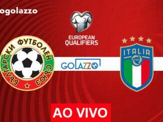 assistir bulgaria x itália ao vivo eliminatórias copa do mundo