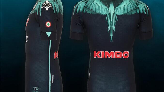 Nova camisa Napoli contra Inter campeonato italiano