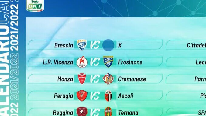 jogos campeonato italiano serie b 2021-2022
